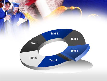 Graduator Students with Diploma PowerPoint Template Slide 19