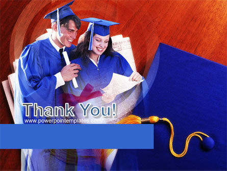 Graduator Students with Diploma PowerPoint Template Slide 20