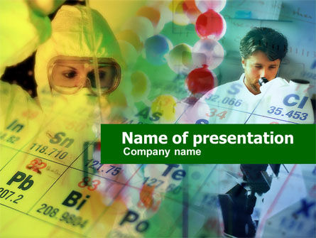 Laboratory of Chemistry PowerPoint Template