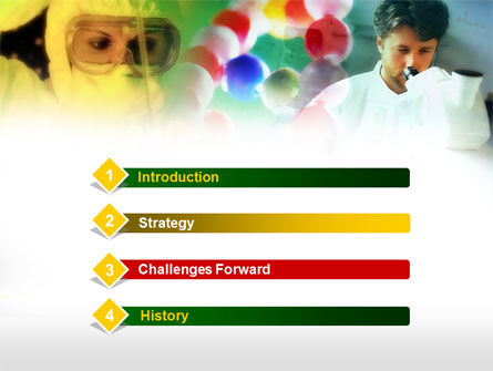 Laboratory of Chemistry PowerPoint Template, Slide 3, 00630, Education & Training — PoweredTemplate.com