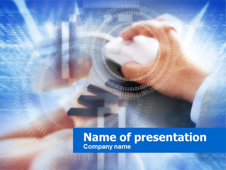 Surfing Internet PowerPoint Template