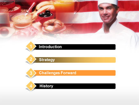 Chef PowerPoint Template, Slide 3, 00635, Food & Beverage — PoweredTemplate.com