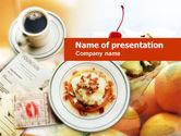 Food & Beverage: Sweet Shop PowerPoint Template #00636