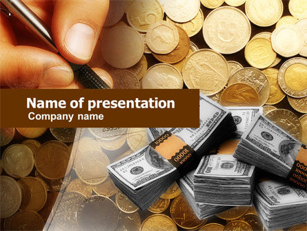 Financial/Accounting: Financial Accountancy PowerPoint Template #00638