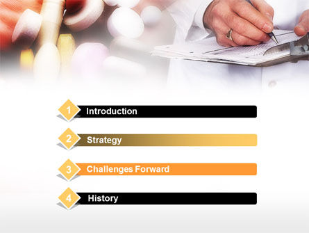 Medical Prescription PowerPoint Template Slide 3