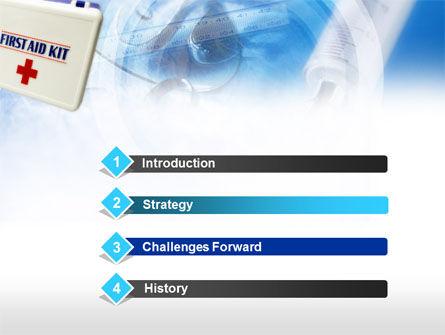 First Aid Kit PowerPoint Template, Slide 3, 00640, Medical — PoweredTemplate.com