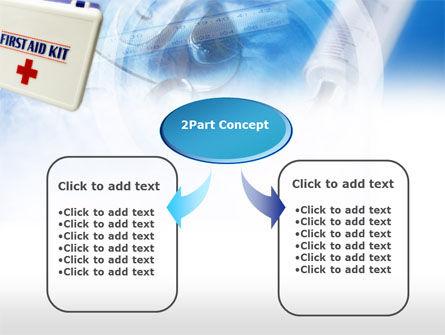 First Aid Kit PowerPoint Template, Slide 4, 00640, Medical — PoweredTemplate.com