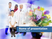 Medical: Patient's Care PowerPoint Template #00642