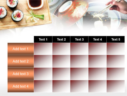 Sushi PowerPoint Template Slide 15