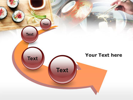 Sushi PowerPoint Template Slide 6
