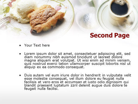 Piece of Pie PowerPoint Template, Slide 2, 00646, Food & Beverage — PoweredTemplate.com