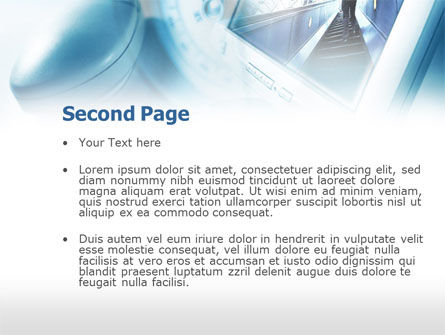 Computer Navigation PowerPoint Template Slide 2