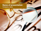 Business: Glasses PowerPoint Template #00650