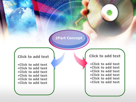 Compact Disc PowerPoint Template Slide 4
