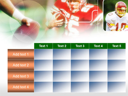 Super Bowl PowerPoint Template Slide 15