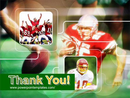 Super Bowl PowerPoint Template Slide 20