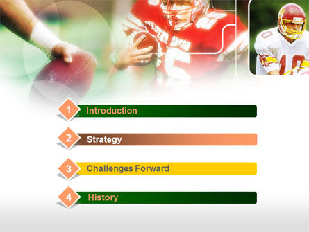 Super Bowl PowerPoint Template, Slide 3, 00654, Sports — PoweredTemplate.com