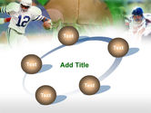American Football In A Green Grass PowerPoint Template#14