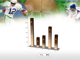 American Football In A Green Grass PowerPoint Template#17