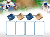 American Football In A Green Grass PowerPoint Template#18
