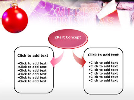 Merry Christmas PowerPoint Template, Slide 4, 00656, Holiday/Special Occasion — PoweredTemplate.com