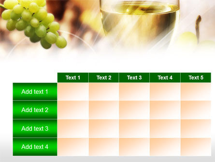 White Wine PowerPoint Template Slide 15