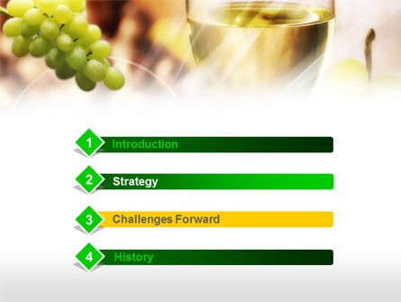 White Wine PowerPoint Template Slide 3