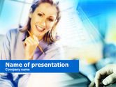 Business: Personal Assistant PowerPoint Template #00658