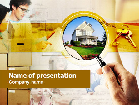Real Estate: Real Property PowerPoint Template #00662