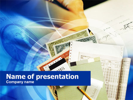 Financial/Accounting: Pack of Certificates PowerPoint Template #00663