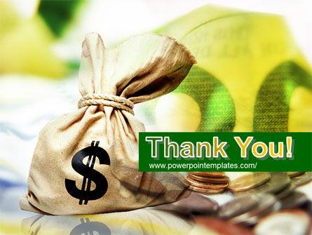 Money Sack PowerPoint Template Slide 20