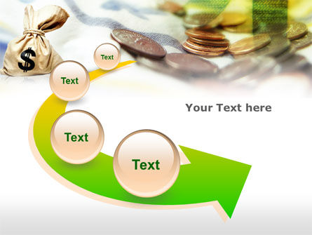 Money Sack PowerPoint Template Slide 6
