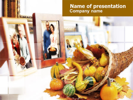 Holiday/Special Occasion: Thanksgiving Eve PowerPoint Template #00670