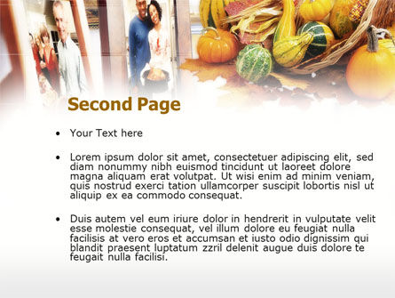 Thanksgiving Eve PowerPoint Template Slide 2
