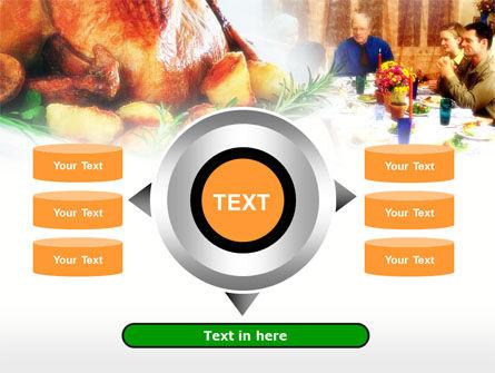 Thanksgiving Dinner PowerPoint Template Slide 12