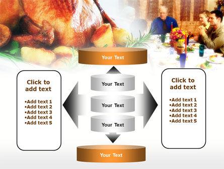 Thanksgiving Dinner PowerPoint Template Slide 13