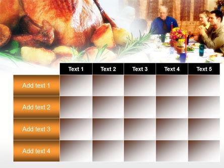 Thanksgiving Dinner PowerPoint Template Slide 15