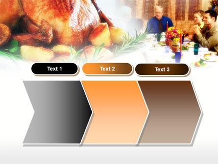Thanksgiving Dinner PowerPoint Template Slide 16