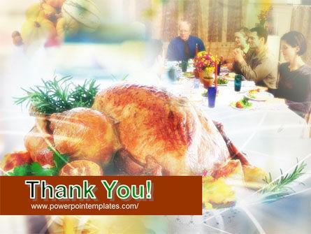 Thanksgiving Dinner PowerPoint Template Slide 20