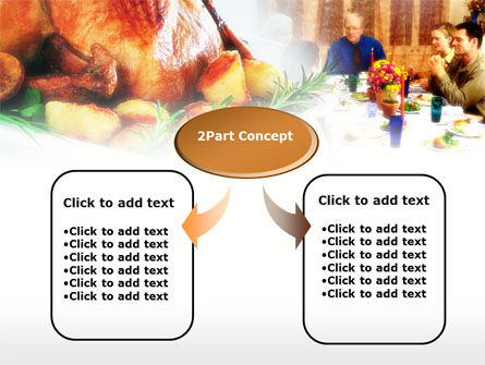 Thanksgiving Dinner PowerPoint Template, Slide 4, 00671, Holiday/Special Occasion — PoweredTemplate.com