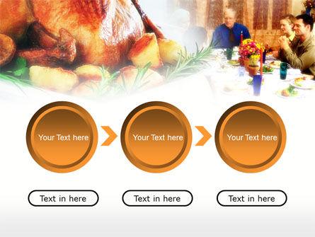 Thanksgiving Dinner PowerPoint Template Slide 5