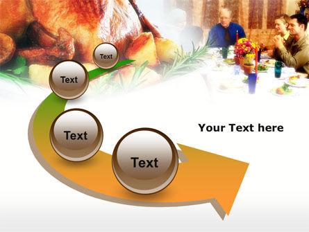 Thanksgiving Dinner PowerPoint Template Slide 6