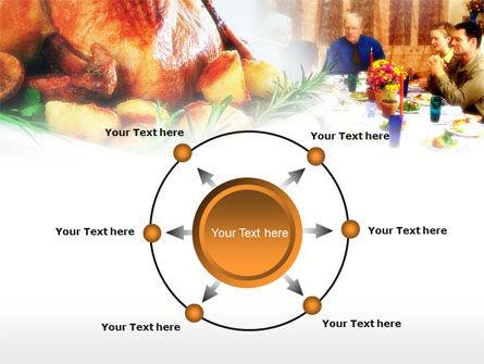 Thanksgiving Dinner PowerPoint Template Slide 7