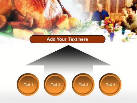 Thanksgiving Dinner PowerPoint Template Slide 8