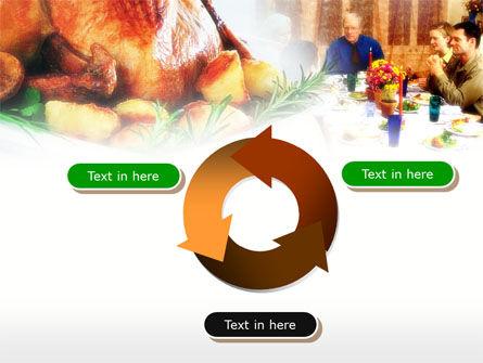 Thanksgiving Dinner PowerPoint Template Slide 9