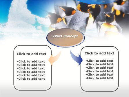 Antarctic Continent PowerPoint Template, Slide 4, 00673, Animals and Pets — PoweredTemplate.com