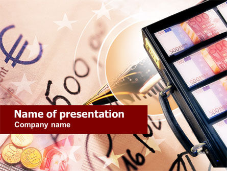 Financial/Accounting: European Investment PowerPoint Template #00680