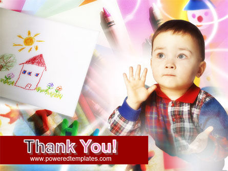 Small Child PowerPoint Template Slide 20