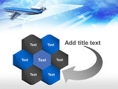Plane PowerPoint Template#11