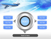 Plane PowerPoint Template#12